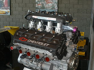 1988 Indianapolis 500 - The Ilmor Chevrolet Indy V-8 engine
