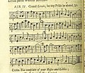 Image taken from page 15 of 'The Village Opera (in three acts, in prose; with songs) ... To which is added the musick to each song' (11219041645).jpg