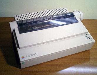 ImageWriter - Image: Imagewriter ii