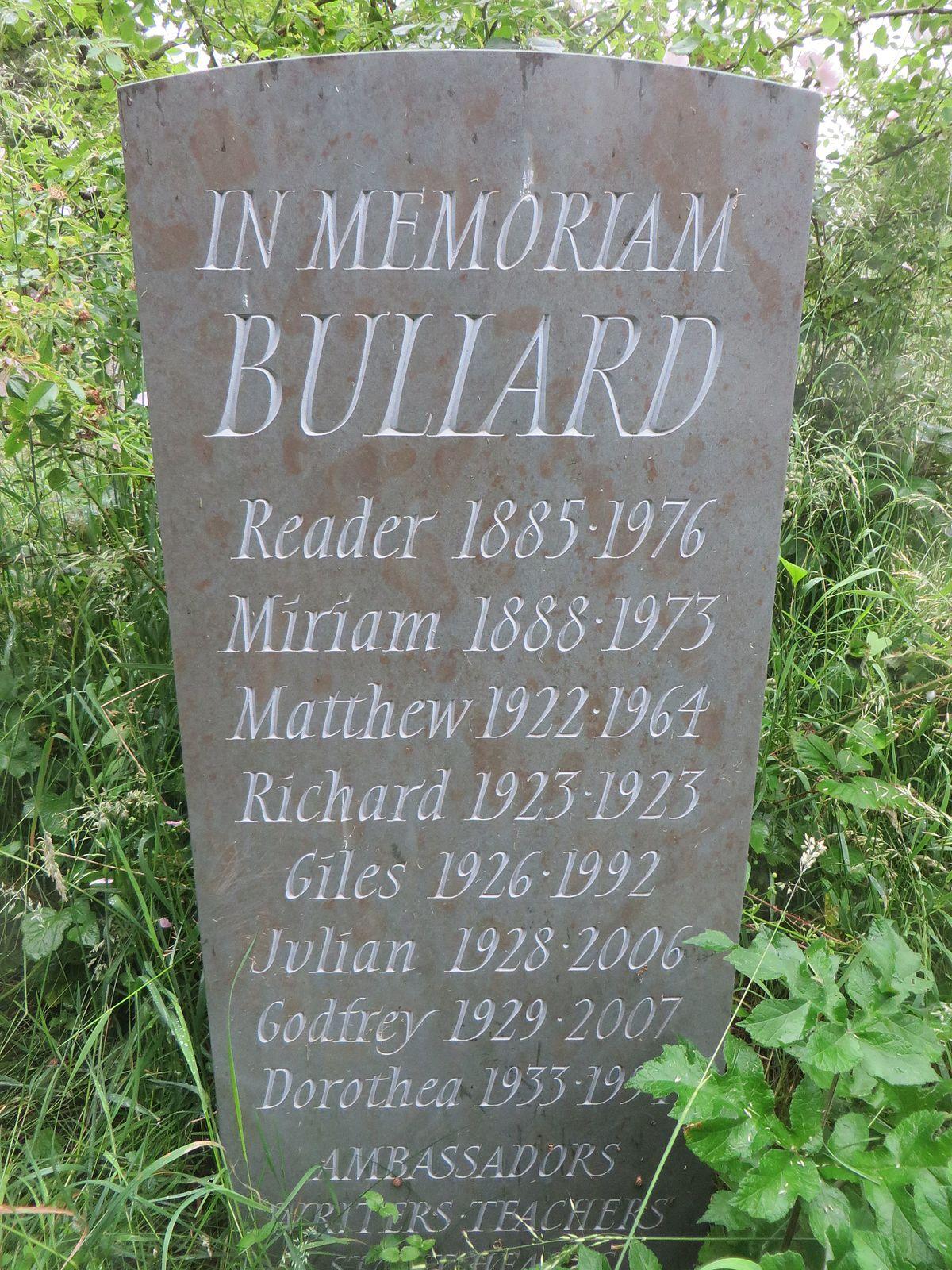 Reader Bullard - Wikipedia