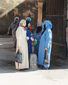 In Morocco have lot of women head scarves and veils.jpg