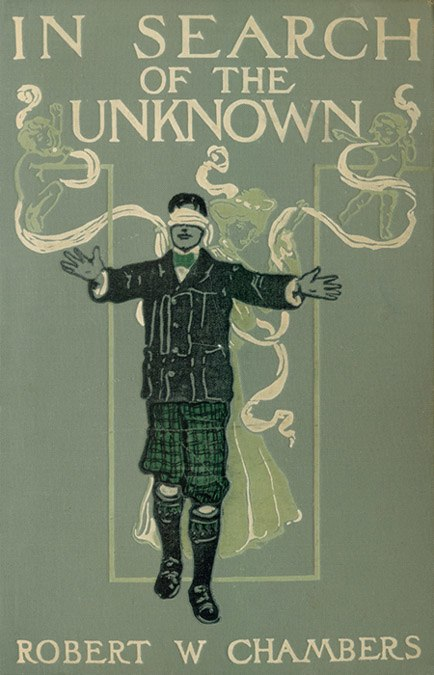 In Search of the Unknown - Bookcover - Project Gutenberg eText 18668