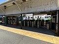 Inbound faregates at Lechmere station (1), May 2020.agr.jpg