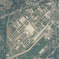 Indianapolis Airport Map Indianapolis International Airport   Wikipedia