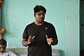 Indrajit Das Speaks - Wikimedia Meetup - AMPS - Kolkata 2017-04-23 6659.JPG