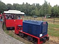 Industrieel Smalspoormuseum Erica, rijdende trein - 1.JPG