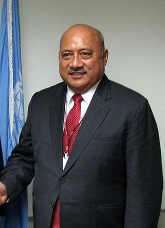 Leader of the Opposition (Fiji) - Image: Inoke Kubuabola 2012