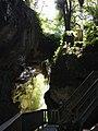 Inside Mangapohue Natural Bridge rock arch.jpg