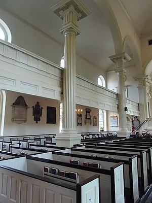 Christ Church, Philadelphia - Interior in 2012