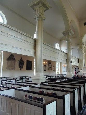 Christ Church, Philadelphia - Interior in 2012