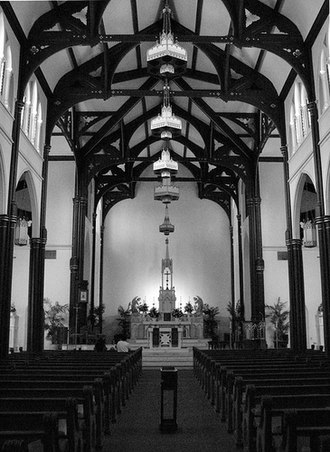 St. Mary Cathedral Basilica (Galveston, Texas) - Sanctuary of St. Mary Cathedral Basilica