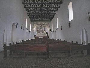 La Uvita - Image: Interior de la Iglesia