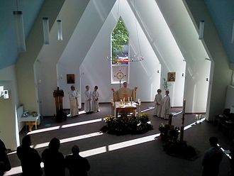 2011 in Germany - Newly constructed in 2011, Angélique Arnauld Church