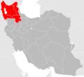 Iranian Azerbaijan (including Zanjan province).png