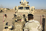 Iraqi Army Soldiers train with tactical vehicles and receive briefings on mission status 150711-A-YV246-009.jpg