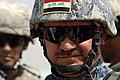 Iraqi army Brig. Gen. Sadi Baha attends the opening of a new swimming pool in Risalah, Baghdad, Iraq, Sept. 18, 2008 080918-N-KM397-021.jpg
