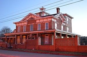 Burnside, Pennsylvania - The Irvin-Patchin House on Main Street