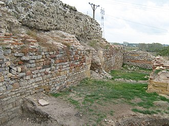 Tulcea County - Ruins of the Noviodunum fortress