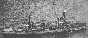 Italian battleship Dante Alighieri aerial view.jpg
