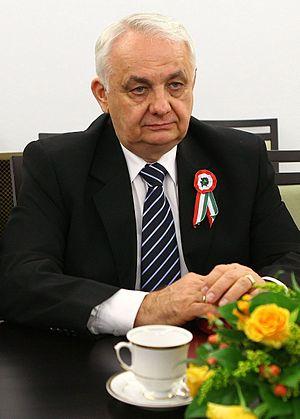János Latorcai - János Latorcai in the Polish Senate (2012)