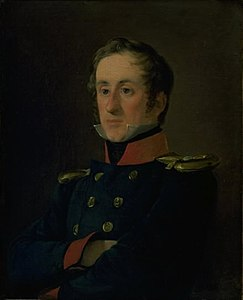 Jørgen Roed - The Marine Painter Emil Wilhelm Normann in his Uniform as a Naval Officer - KMS4903 - Statens Museum for Kunst.jpg