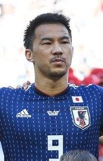 Shinji Okazaki Japanese association football player