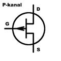 JFET P-kanal symbol.png