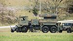 JGSDF Type 81 SAM(launcher, 04-2617) left side view at Camp Shinodayama April 16, 2017.jpg