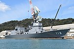 JS Fuyuzuki(DD-118) right front view at JMU Maizuru Shipyard April 13, 2019 01.jpg