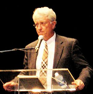 Jack Thompson (activist) - Thompson in January 2007 at a debate at California University of Pennsylvania