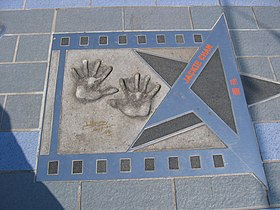Chan's star on the Avenue of Stars, Hong Kong
