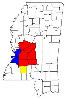 Jackson–Vicksburg–Brookhaven, MS Combined Statistical Area