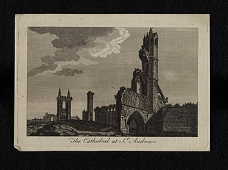 St Andrews Cathedral - Historic view of St Andrews Cathedral