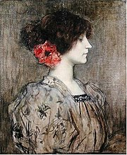 Colette, painted ca. 1896 by Jacques Humbert