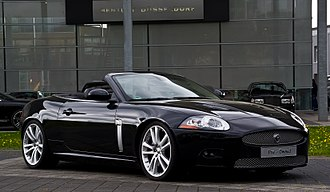 Jaguar XK (X150) - Pre-facelift Jaguar XKR Cabriolet (Germany)