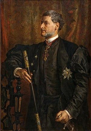 Alfred Józef Potocki - Count Alfred Józef Potocki by Jan Matejko, 1879