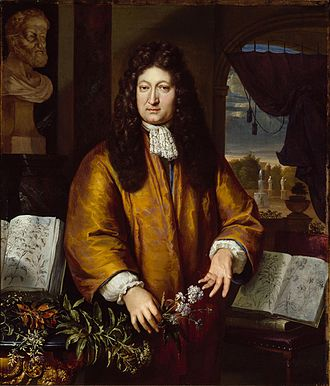 Jan Commelin - Jan Commelin by Gerard Hoet (1648-1733)
