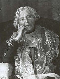 Jane Barton wife of first Prime Minister of Australia, Sir Edmund Barton