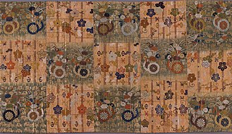 Kasaya (clothing) - Japanese Buddhist priest's Mantle (kesa), 1775-1825. LACMA textile collections.