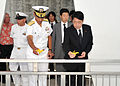 Japanese defense minister visits USS Arizona 130702-N-IT566-093.jpg