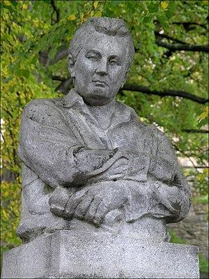 Jaroslav Hašek - Monument to Jaroslav Hašek in Lipnice nad Sázavou