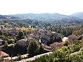 Jaujac - Vu depuis le château du Chastelas.jpg