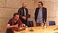 Javier Rebollo, Jose Sacristán, Jose Luis Losa-Praza Publica.jpg