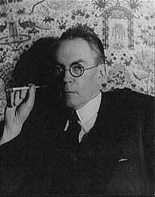 James Branch Cabell photographed by Carl Van Vechten, 1935.