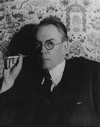 James Branch Cabell - James Branch Cabell photographed by Carl Van Vechten, 1935.