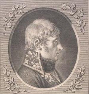 Jean-Charles Monnier - General Monnier by Barbier l'aîné