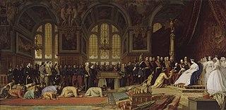 Réception des ambassadeurs siamois par l'Empereur Napoléon III au palais de Fontainebleau, 27 juin 1861
