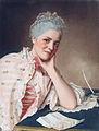 Jean Etienne Liotard, Portrait of Mademoiselle Jacquet..jpg