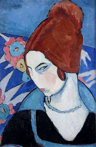 Jeanne Hébuterne - Image: Jeanne Hébuterne Autoportrait