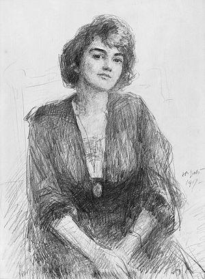 Jeanne Robert Foster - Jeanne Robert Foster (John Butler Yeats, 1917)